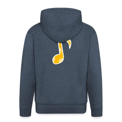 Basic logo - Men's Premium Hooded Jacket