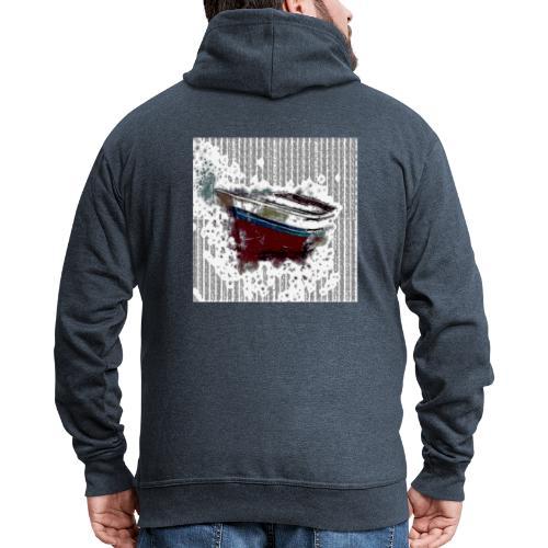 Shoppiful - Felpa con zip Premium da uomo
