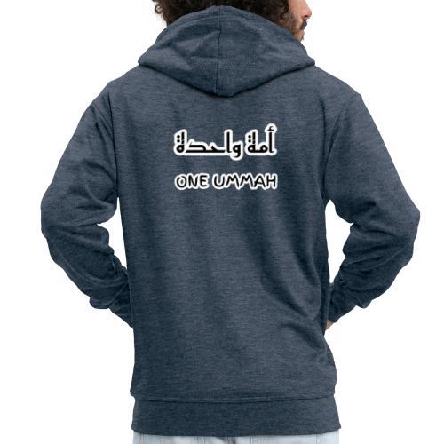 one ummah - Men's Premium Hooded Jacket