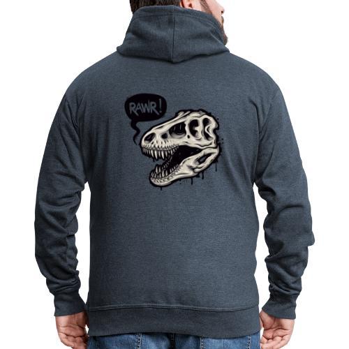 DINO RAWR 1 - Chaqueta con capucha premium hombre
