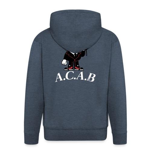 A.C.A.B - Veste à capuche Premium Homme