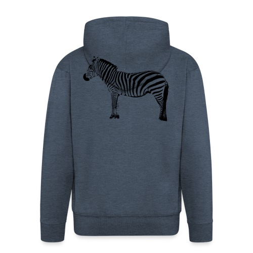 Premium Hoodie Woman | I am a freaking ZEBRA - Men's Premium Hooded Jacket