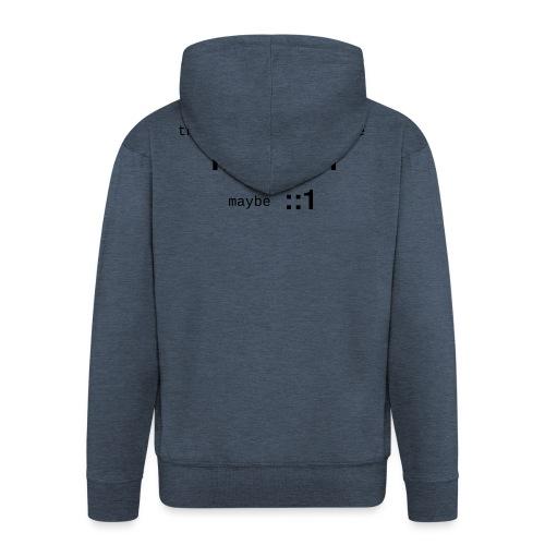 127-0-0-1-::1 - Veste à capuche Premium Homme