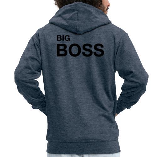 big boss 01 - Männer Premium Kapuzenjacke
