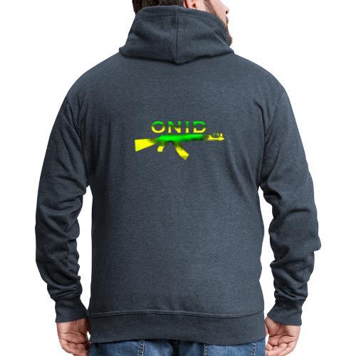 ONID-22 - Felpa con zip Premium da uomo