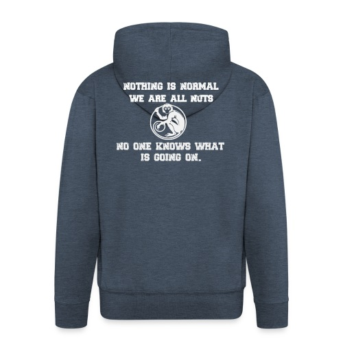 monkey - Men's Premium Hooded Jacket