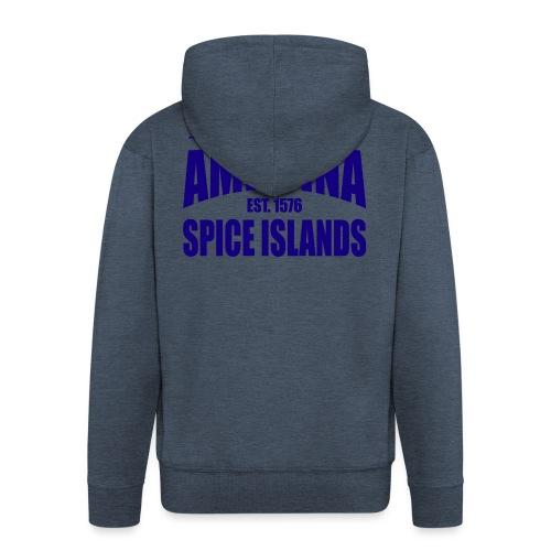 Cidade de Amboina - Blue - Mannenjack Premium met capuchon