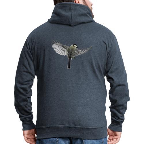 Vogel - Männer Premium Kapuzenjacke