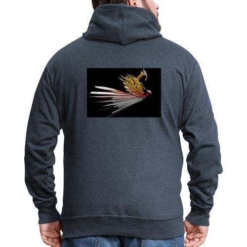 Abstract Bird - Men's Premium Hooded Jacket