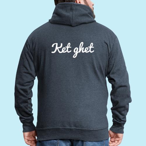 Ket ghet - Veste à capuche Premium Homme