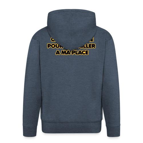 cherche_sosie2 - Veste à capuche Premium Homme