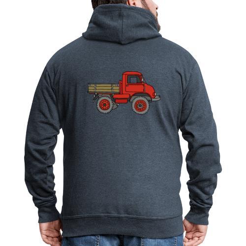 Roter Lastwagen, LKW, Laster - Männer Premium Kapuzenjacke