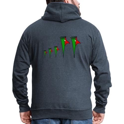 Galoloco - Familia3 - Men's Premium Hooded Jacket