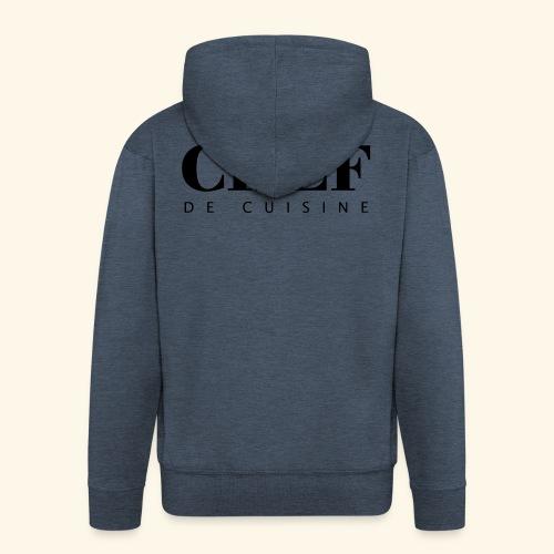BOSS de cuisine - logotype - Men's Premium Hooded Jacket