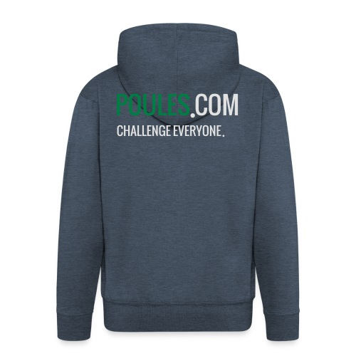 Challenge Everyone - Mannenjack Premium met capuchon