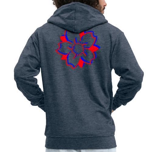 Sakura Logo - Veste à capuche Premium Homme