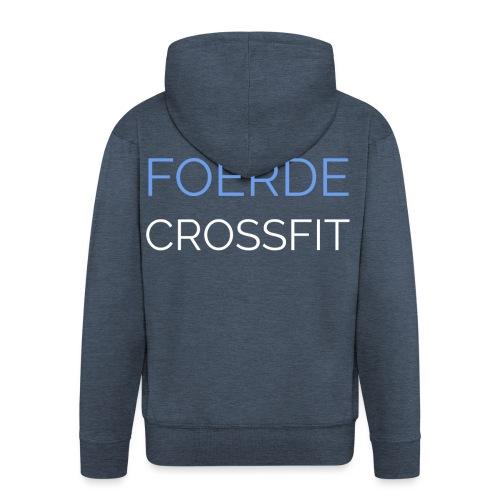 Foerde CrossFit - Männer Premium Kapuzenjacke