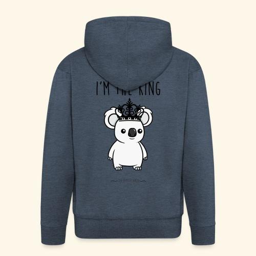 Koala king - Veste à capuche Premium Homme