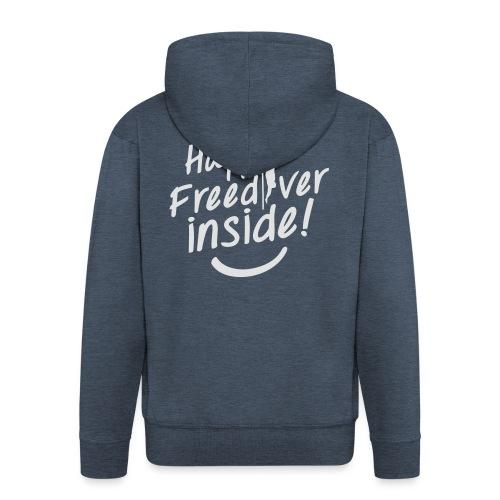 HappyFreediverInside - Veste à capuche Premium Homme
