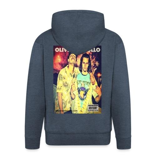 Oliver and Apollo Merchandise Round One! - Men's Premium Hooded Jacket