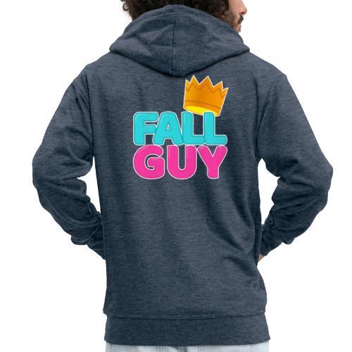 00292 Fallguy corona - Chaqueta con capucha premium hombre