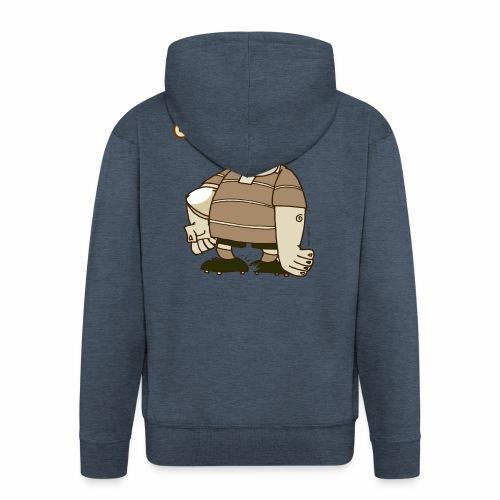Hooker_Marplo_mug - Felpa con zip Premium da uomo