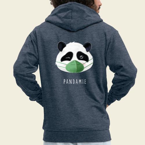 Pandamie - Männer Premium Kapuzenjacke