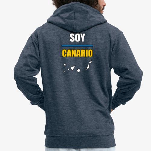 Soy Canario - Chaqueta con capucha premium hombre