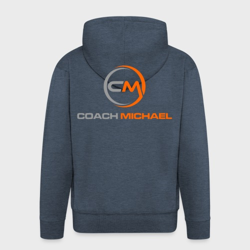 Coach Michael Personal Training & Coaching - Männer Premium Kapuzenjacke