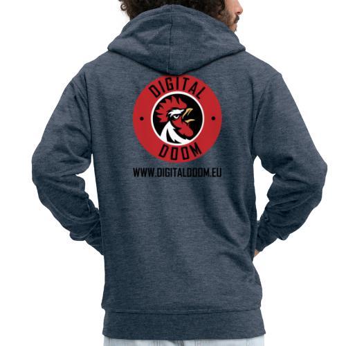 DD + Website - Men's Premium Hooded Jacket