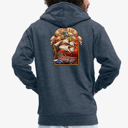 L'explorateur - Veste à capuche Premium Homme