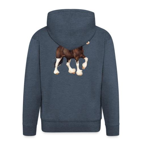 Shire Horse - Männer Premium Kapuzenjacke