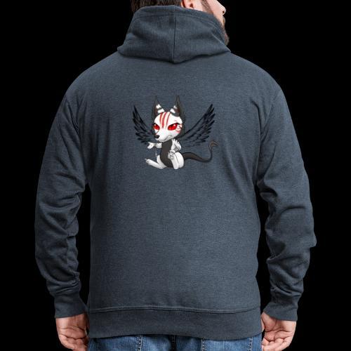 Démon Wolfire - Veste à capuche Premium Homme