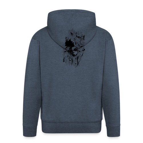 Akasacian tshirt design 611 - Chaqueta con capucha premium hombre