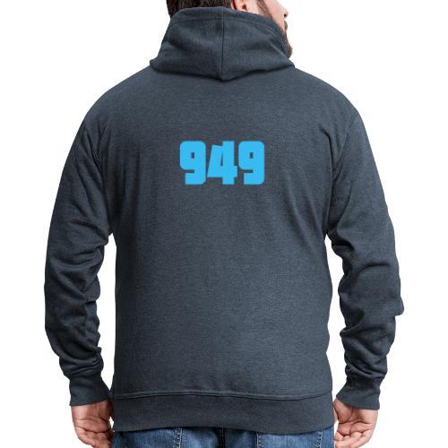 949blue - Männer Premium Kapuzenjacke