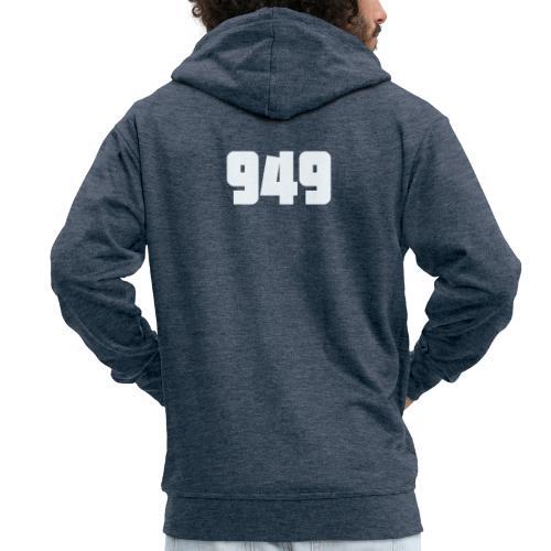 949withe - Männer Premium Kapuzenjacke