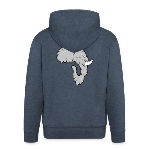 Elefante Perfil - Chaqueta con capucha premium hombre