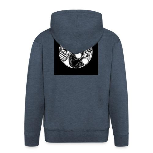 Yng yang skull - Veste à capuche Premium Homme