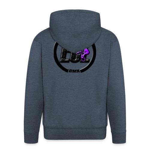 ECLBMX Logo - Men's Premium Hooded Jacket