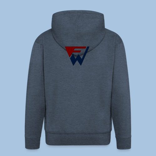 FW Logo - Men's Premium Hooded Jacket