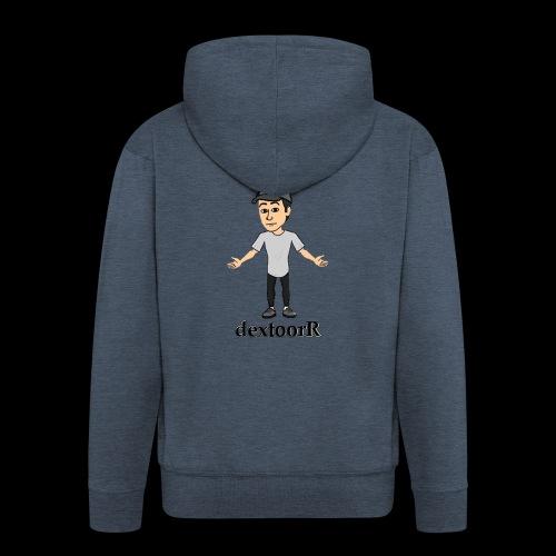 dextoorR - Bitmoji minta - Men's Premium Hooded Jacket