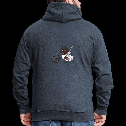 logo guitar - Veste à capuche Premium Homme