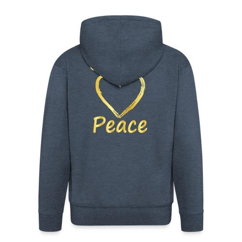 Choose Peace - Men's Premium Hooded Jacket