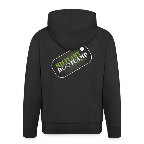 military bootcamp - Men's Premium Hooded Jacket