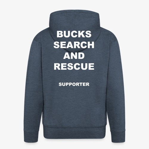 BSAR Supporter Text - Men's Premium Hooded Jacket