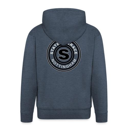 state of grace logo - Men's Premium Hooded Jacket