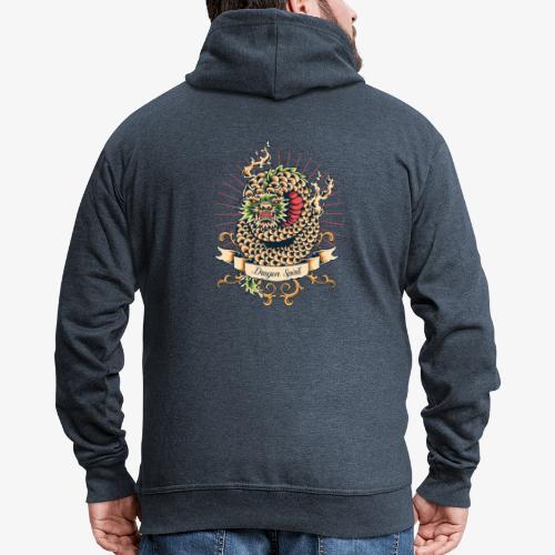 Drachengeist - Männer Premium Kapuzenjacke