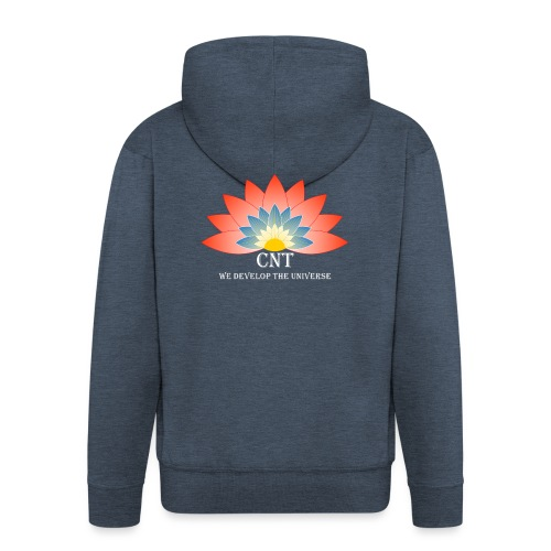 Support Renewable Energy with CNT to live green! - Men's Premium Hooded Jacket