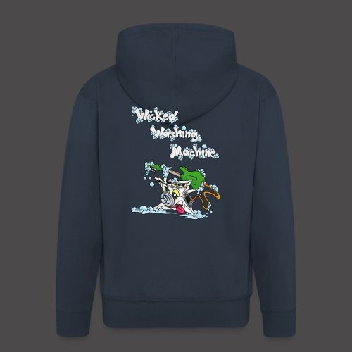Wicked Washing Machine Cartoon and Logo - Mannenjack Premium met capuchon
