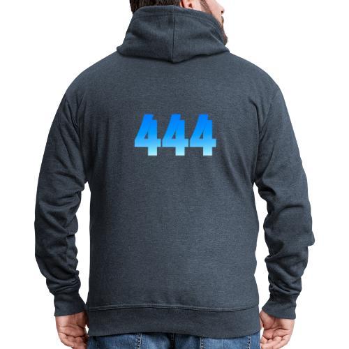 444 annonce que des Anges vous entourent. - Veste à capuche Premium Homme